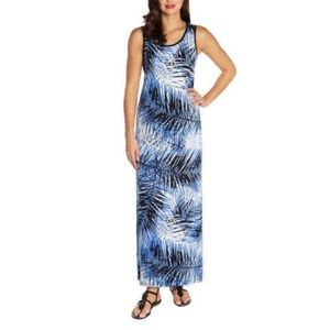 Mario Serrani Ladies' Sleeveless Maxi Dress blue